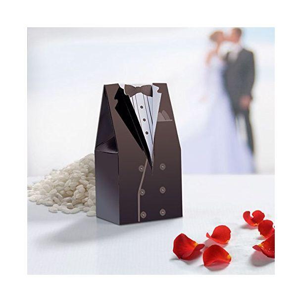 Scatolina Porta Confetti  Sposo