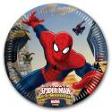 Piatti Carta Spiderman