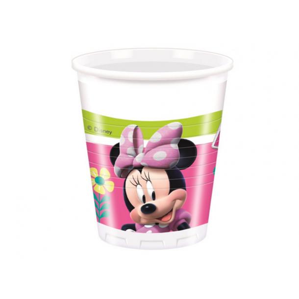 Bicchiere Plastica Minnie