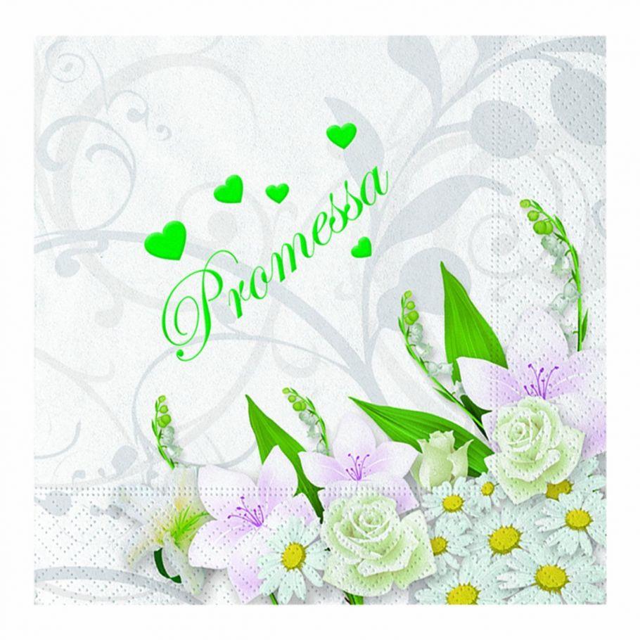 Auguri Promessa Di Matrimonio : Tovaglioli carta promessa matrimonio cartain