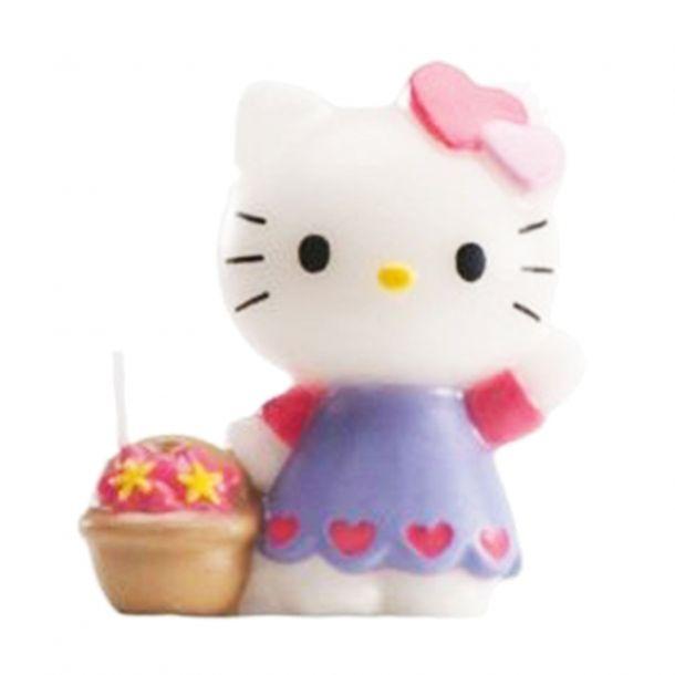 Candelina Torta Hello kitty