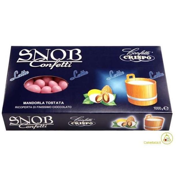 Confetti Snob Crispo - Mandorla Tostata | Rosa