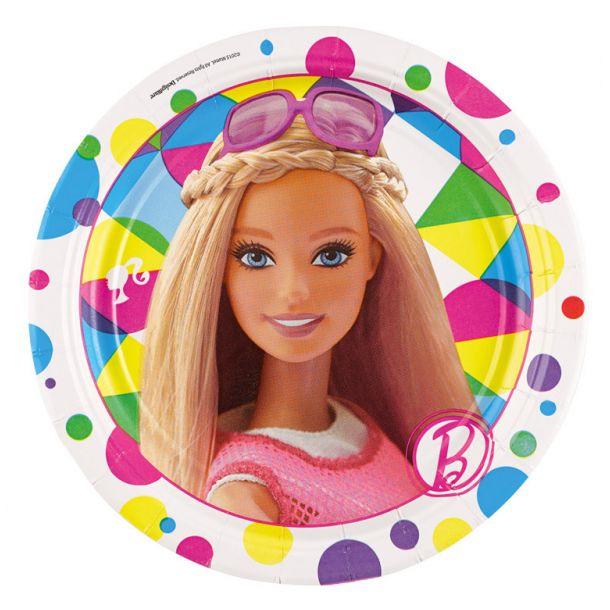 Piatti Carta Barbie