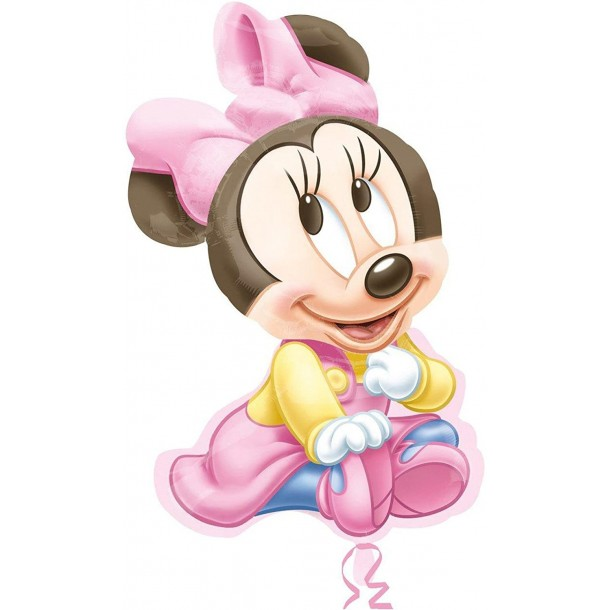 Palloncino Mylar Supershape Sagoma Minnie Baby