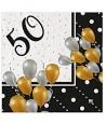 20 Tovaglioli In Carta Prestige 50 Anni