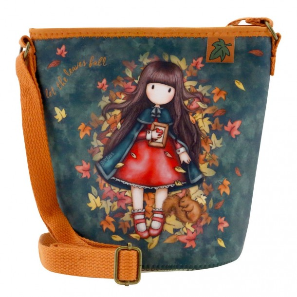 Borsa Gorjuss Neoprene Bag Autumn Leaves - Santoro London