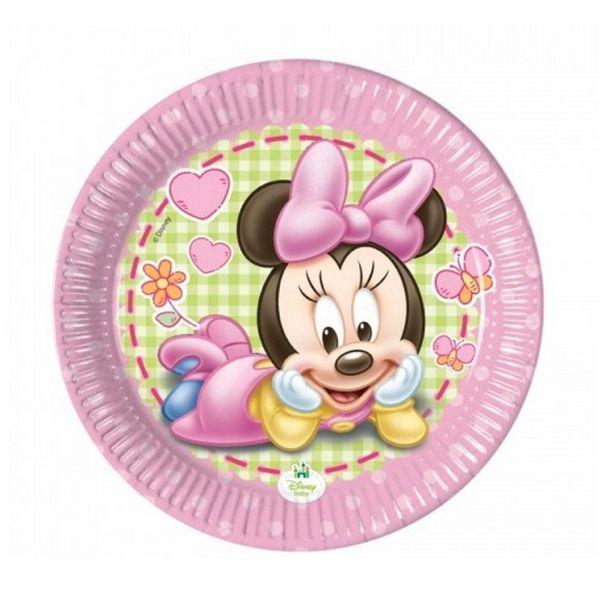 Piatto Carta Minnie Baby