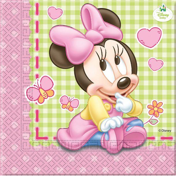 Tovaglioli Carta Minnie Baby